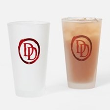 Daredevil Symbol Drinking Glass