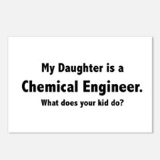 Chemical Engineer Daughter Postcards (Package of 8