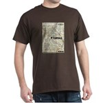 Walking Dead Terminus Map T-Shirt