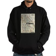 Walking Dead Terminus Map Hoodie