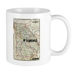 Walking Dead Terminus Map Mug Mugs