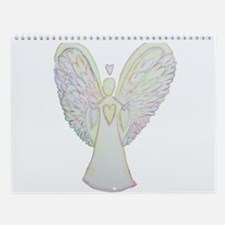 Rainbow Hearts Angel Wall Calendar