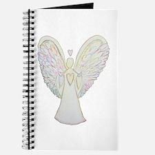 Rainbow Hearts Angel Journal