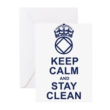 Calm and Clean Greeting Cards
