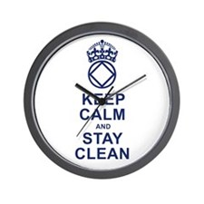 Calm and Clean Wall Clock