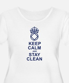 Calm and Clean Plus Size T-Shirt