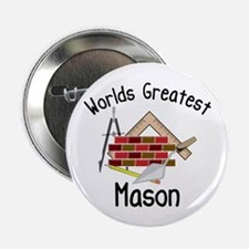 "Worlds Greatest Mason 2.25"" Button (10 pack)"