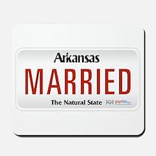 Arkansas Marriage Equality Mousepad