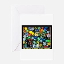 Lost Marbles Greeting Cards