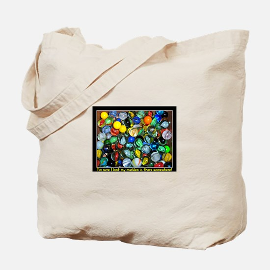 Lost Marbles Tote Bag