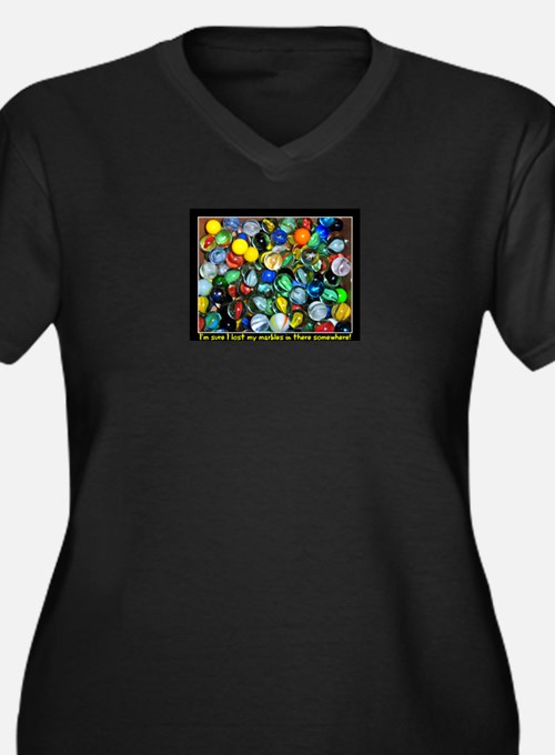 Lost Marbles Plus Size T-Shirt