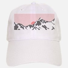 Mountain Sunrise Baseball Baseball Baseball Cap