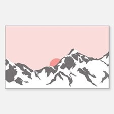 Mountain Sunrise Decal