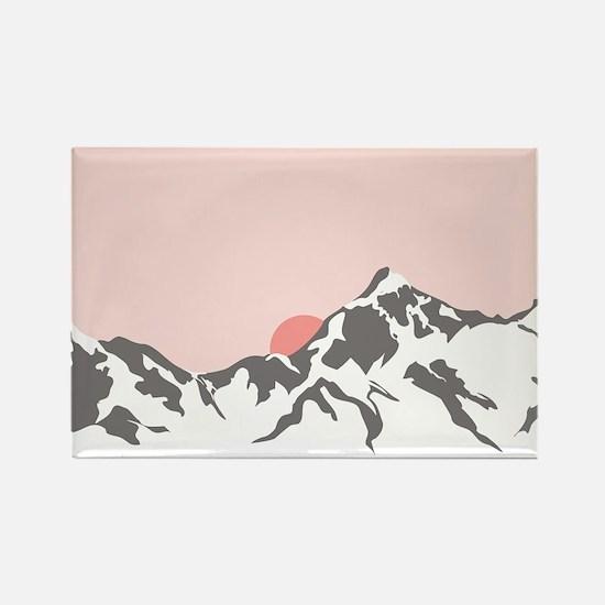 Mountain Sunrise Magnets
