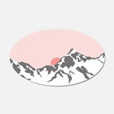 Mountain Sunrise Wall Decal