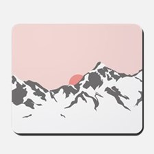 Mountain Sunrise Mousepad