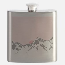 Mountain Sunrise Flask