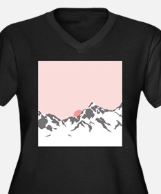 Mountain Sunrise Plus Size T-Shirt