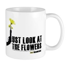 Walking Dead Look at the Flowers Mug