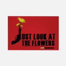 Walking Dead Look At The Flowers Magnet Magnets