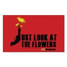 Walking Dead Look At The Flowers Decal