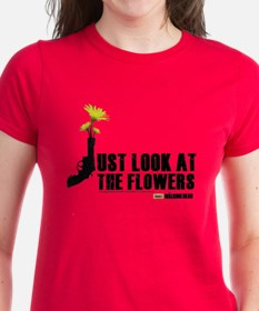 Walking Dead Look At The Flowers Women's T-Shirt