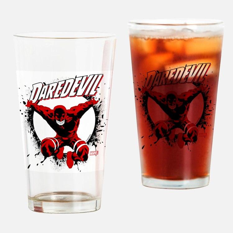 Jumping Daredevil Drinking Glass