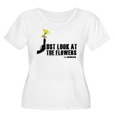 Look At Flowers Women's Plus Size T-Shirt