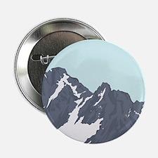 """Mountain Peak 2.25"""" Button"""