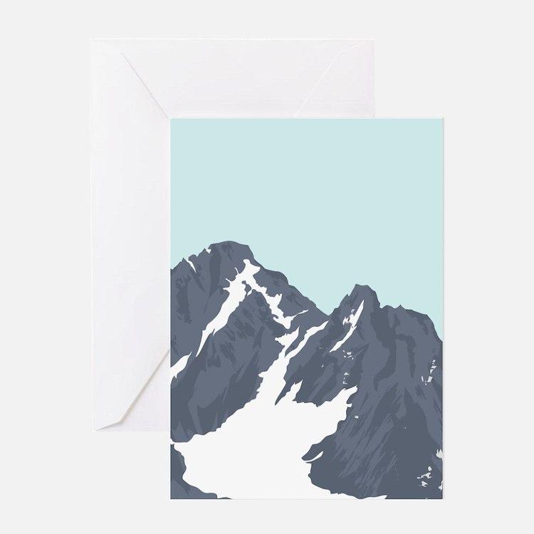 Mountain Peak Greeting Cards