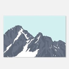 Mountain Peak Postcards (Package of 8)