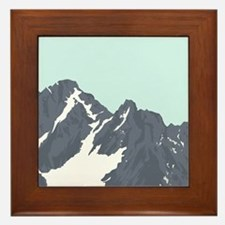 Mountain Peak Framed Tile