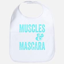 Muscles & Mascara Bib