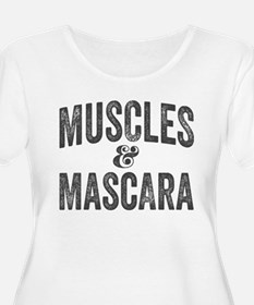 Muscles and Mascara Plus Size T-Shirt