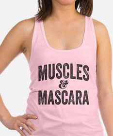Muscles and Mascara Racerback Tank Top