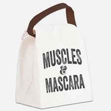 Muscles and Mascara Canvas Lunch Bag