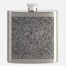 Optical Illusion Sphere - Monochrome Flask