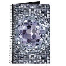 Optical Illusion Sphere - Monochrome Journal