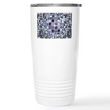 Optical Illusion Sphere Travel Mug