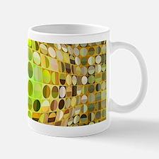 Optical Illusion Sphere - Yellow Mug