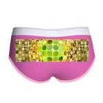 Optical Illusion Sphere - Yellow Women's Boy Brief