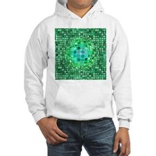 Optical Illusion Sphere - Green Hoodie