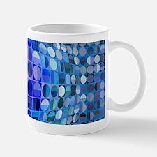 Optical Illusion Sphere - Blue Mug