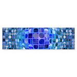 Optical Illusion Sphere - B Sticker (Bumper 50 pk)