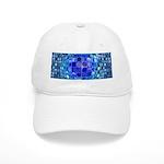 Optical Illusion Sphere - Blue Cap