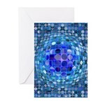 Optical Illusion Sphere Greeting Cards (Pk of 10)