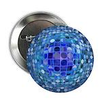 Optical Illusion Sphere - Blue 2.25