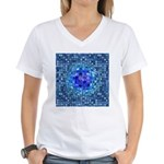 Optical Illusion Sphere - B Women's V-Neck T-Shirt