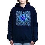 Optical Illusion Sphere Women's Hooded Sweatshirt