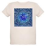 Optical Illusion Sphere - Blu Organic Kids T-Shirt